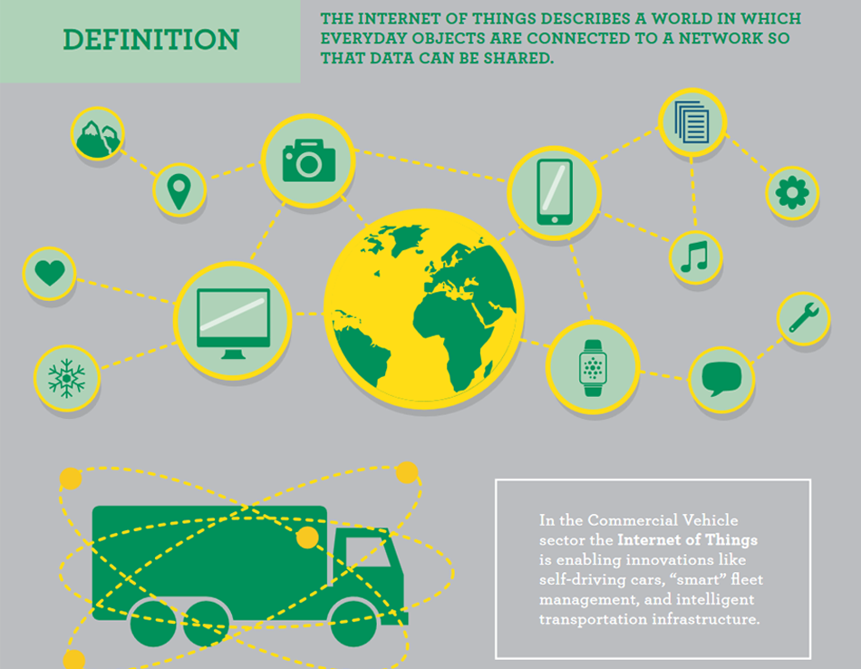 The internet of things in the commercial vehicle sector