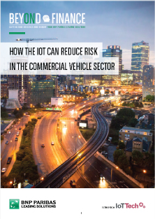 How the IoT can reduce risk in the commercial vehicle sector