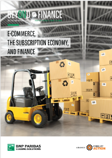 Beyond Finance - e-commerce the subscription economy and finance