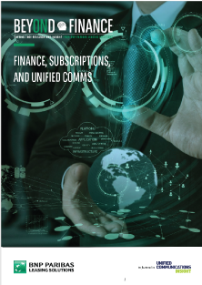 BEYOND FINANCE - Finance subscriptions and unified comms