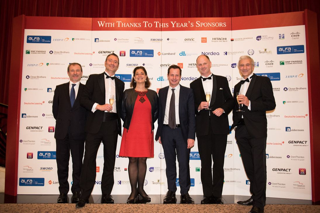 BNP Paribas Leasing Solutions becomes three-time 'european lessor of the year' winner