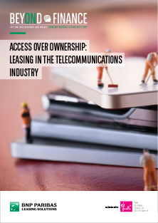 Beyond Finance - Access over ownership - leasing in the telecommunications industry