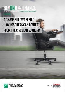 Beyond Finance - A change in ownership how resellers can benefit from the circular economy