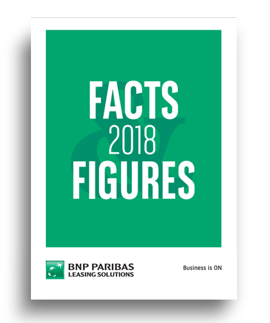 BNP Paribas Leasing Solutions Facts and figures 2018 cover