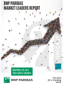 BNP Paribas Market Leaders Report: Mapping the UK's Post-Brexit Growth